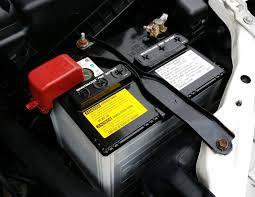 changement de la batterie de voiture