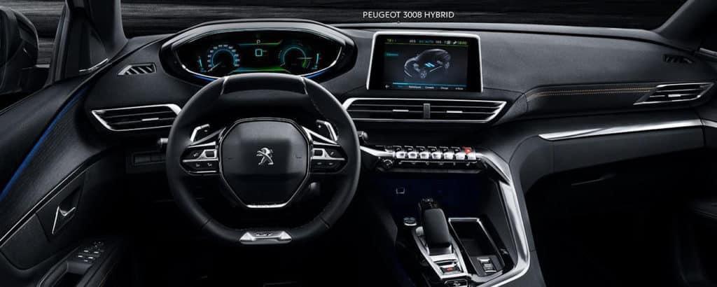 Peugeot 3008 planche de bord