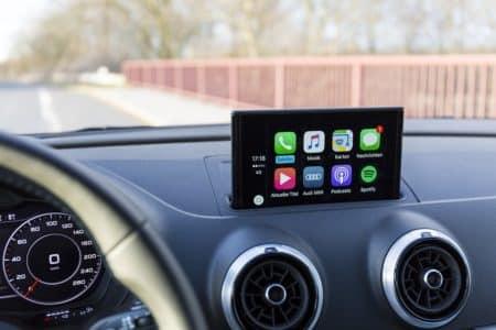 voiture compatible avec apple car play