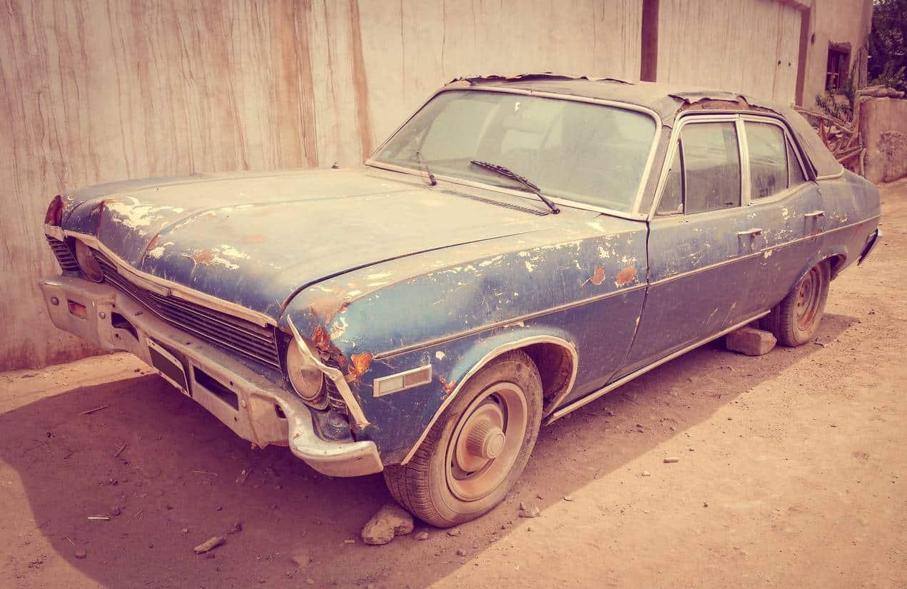 vendre une voiture pour pièces